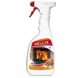 HELLIX čistič krbových skel 500 ml