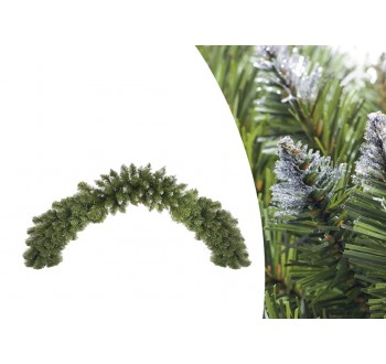 Vánoční dekorace - girlanda stříbrná 150 cm