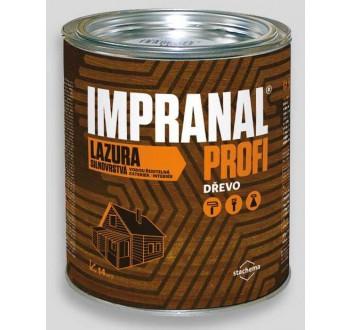 IMPRANAL PROFI  lazurovací lak silnovrstvý - palisandr 5l