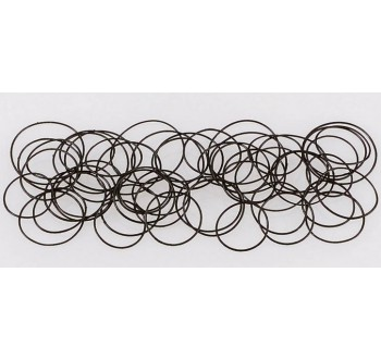 Sada kroužkových těsnění do hodinek Toolcraft, 100 ks