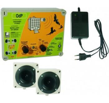 Format 1 plašič a odháněč ptáků plašič na ptáky OdP 2 ultrazvukový se 2 reproduk