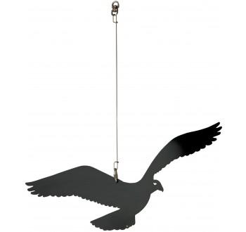 PLAŠIČ ptáků  385 mm + závěs a otočný obrtlík
