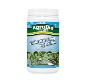 AgroBio Opava Vláknité řasy v jezírku 1kg