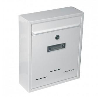 Schránka poštovní G21 RADIM malá 310x260x90mm bílá