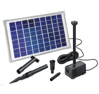 Solární sada s čerpadlem Esotec Napoli, 600 l/h, 1,3 m +