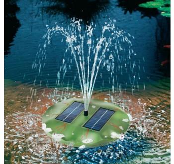 Solární ostrůvek s fontánou Esotec Seerose, 101770, 160 l/h, 0,4 m