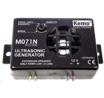 Ultrazvukové zařízení pro odpuzení obtížného hmyzu Kemo M071N, dosah 40 m