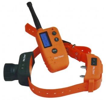 Petrainer PET910 - elektronický výcvikový obojek s lokalizací DOG TRAINER T07 +