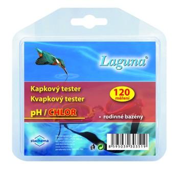 Laguna tester pH/chlor kapkový 120