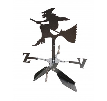 Větrná korouhev Čarodějnice - na hřeben střechy - SN