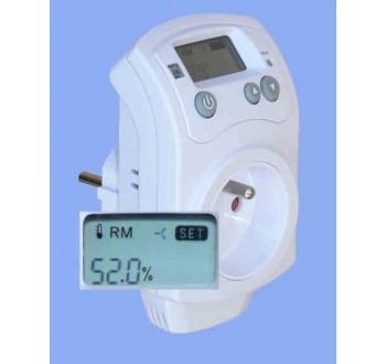 Hygrostat zásuvkový Hutermann HH-810