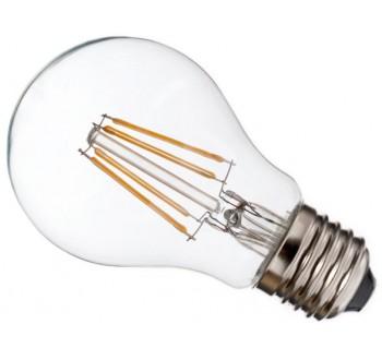 LED žárovka vláknová E27 Filament 6W (ekvivalent 54W žárovky)