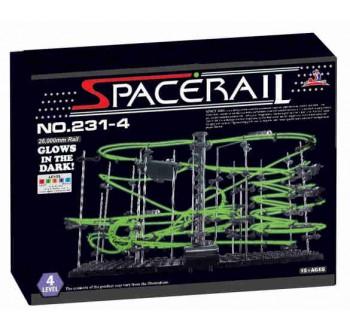 SpaceRail LEVEL 4 svítící kuličková stavebnice kuličkodráha Space Rail