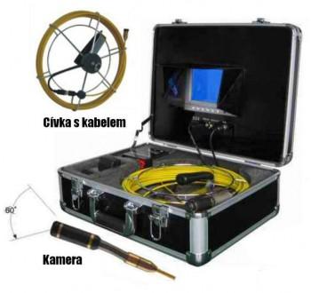 Profesionální inspekční kamera videoskop - endoskop HIC-88L PROFI