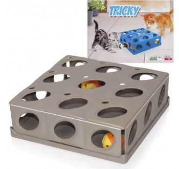 Tricky pohyblivá hračka pro kočky