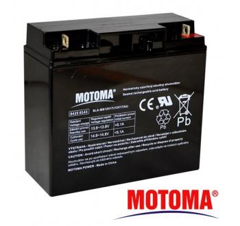 Baterie olověná 12V 17Ah MOTOMA