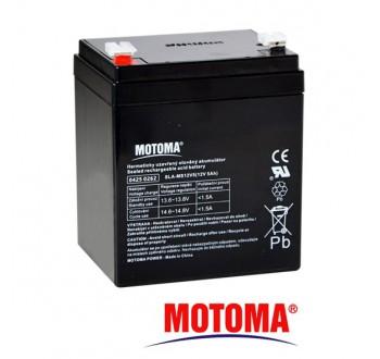 Baterie olověná 12V / 5Ah MOTOMA bezúdržbový akumulátor