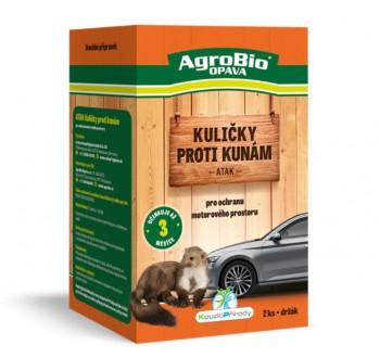 AgroBio OPAVA Atak - kuličky proti kunám 2ks