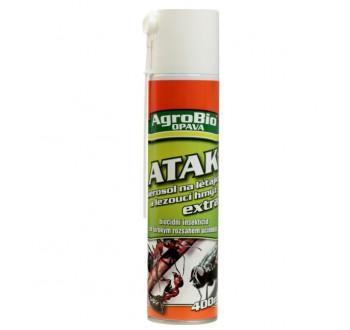 AgroBio ATAK aerosol na létající a lezoucí hmyz 400ml