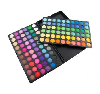 """Harmony paleta očních stínů 120 barev """"AG167"""""""