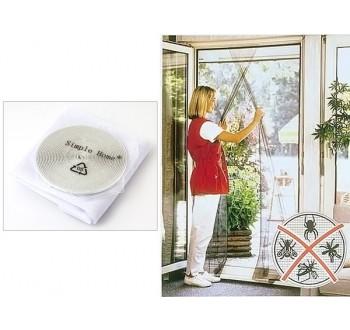 HARMONY Síť do dveří a oken bílá 60 cm x 200 cm 2ks
