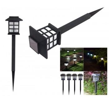 LED zahradní solární lampa HARMONY