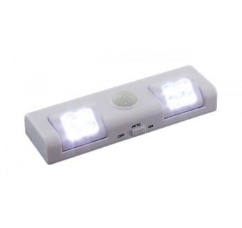 Bezdrátové noční LED světlo se snímačem pohybu -  AA, 8 LED HARMONY
