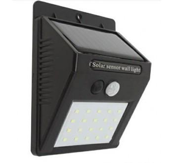 HARMONY Venkovní solární světlo 20 LED, 4W, pohybový a světelný senzor