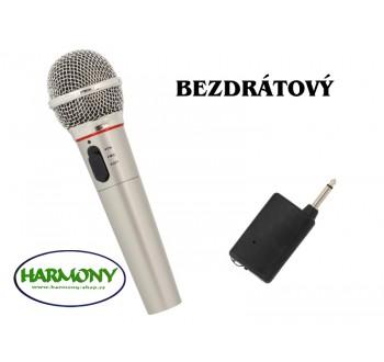 HARMONY karaoke bezdrátový mikrofon FM