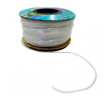 Silikonová vzduchovací hadička 4/6 mm - cena za 1 bm