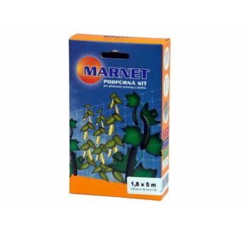 Síť podpůrná pro pěstování zeleniny a květin 1,8x5m 18x18cm