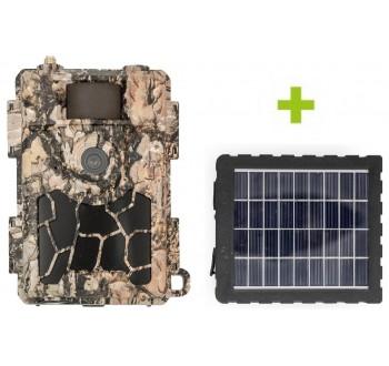 Fotopast OXE Spider 4G a solární panel +