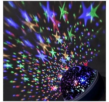 Solight 1V220 LED vánoční projekční koule
