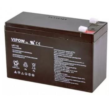 Baterie olověná 12V 7.0Ah VIPOW