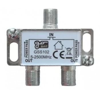 Anténní rozbočovač GoSat GSS102 2 výstupy
