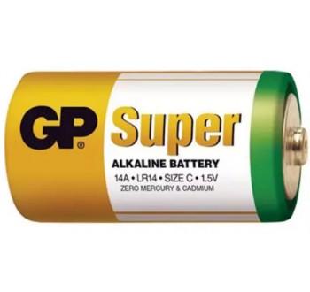 Baterie C (R14) alkalická GP Super Alkaline - 1 kus