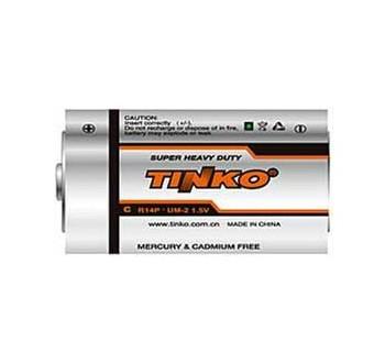 Baterie TINKO 1,5V C(R14), Zn-Cl