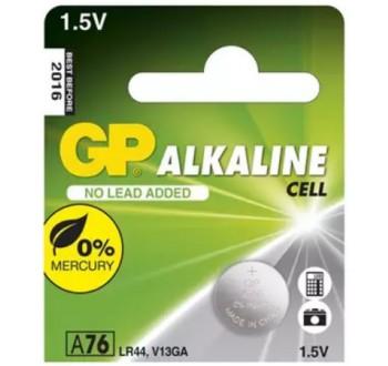 Baterie LR44 (A76) GP alkalická