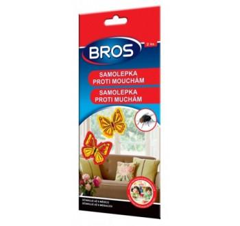 BROS-samolepka proti mouchám 2ks