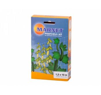 Síť podpůrná pro pěstování zeleniny a květin 1,2x10m12x12cm