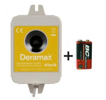 Deramax Klasik ultrazvukový plašič kun a hlodavců +