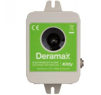 Deramax®-Kitty - Ultrazvukový odpuzovač-plašič koček a psů