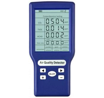Hutermann Tester kvality ovzduší CO2-301 (CO2, VOC, HCHO)
