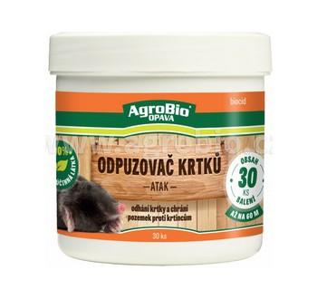 AgroBio Kouzlo přírody Odpuzovač krtků 60ks
