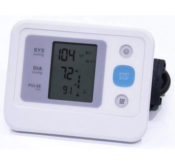 Měřič tlaku a tepu na paži A3, tlakoměr
