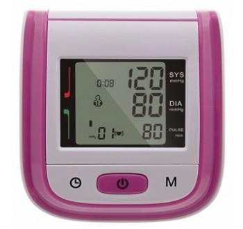 Měřič tlaku a tepu na zápěstí W1, tlakoměr