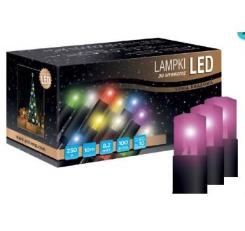 LED osvětlení vnitřní - klasická, růžová, 6 m