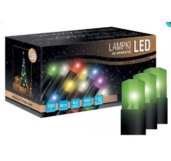 LED osvětlení vnitřní - klasická, zelená, 10 m