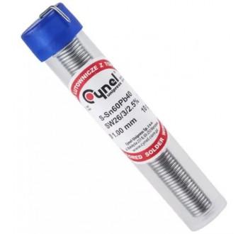 Cín 1.0mm 10g 60%Sn 40%Pb CYNEL