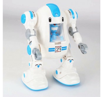 Chodící robot s elektrickým pohonem